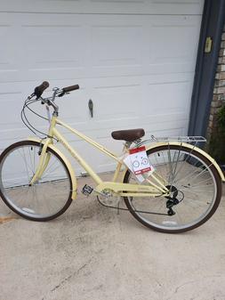 Schwinn Admiral 700c7 Speed Yellow Women Ladies Bicycle bi