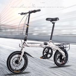 Adult Folding <font><b>Bicycle</b></font> Speed Change Two-D