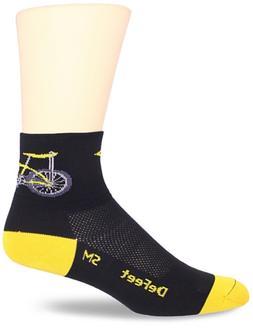 DEFEET Mens Aerator Banana Bike Sock