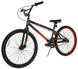 Tony Hawk Boy's Aftermath Bike, Metallic Black, 24-Inch