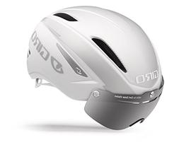 Giro Air Attack Shield Bike Helmet - Matte White/Silver Smal