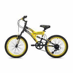 Boys 20 inch Avigo Air Flex Dual Suspension Bike Kids Bicycl