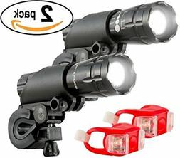 Bright Eyes Aircraft Aluminium Waterproof 300 Lumen LED Bike