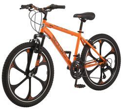 """24"""" Boys Mongoose Alert Mag Wheel Bike, Orange"""
