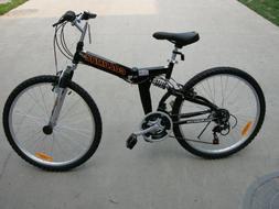 "Columba 26"" Alloy Folding Bike w. Shimano Silver"
