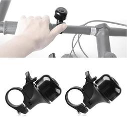 Insten 2-Pack Alloy Ping Style Bike Bicycle Bell Ring Horn A