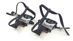 """XLC Alloy Road/Mountain Bike Bicycle Pedals 9/16"""" With Toe C"""