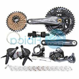 New Shimano Altus M370 MTB City Bike Groupset Group set 3x9