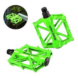 BASECAMP 1 pair of Pro Aluminum Alloy Bike Pedals Light Stab