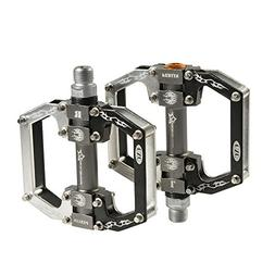 RockBros Aluminum Alloy Cycling Bike Platform Pedals Sealed