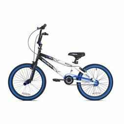 NEW 20' Kent Ambush BOYS' BMX Bike, BLUE, Bicycle Kids SINGL