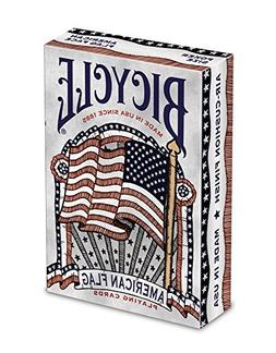 Bicycle American Flag Deck Poker Size Standard Index Playing