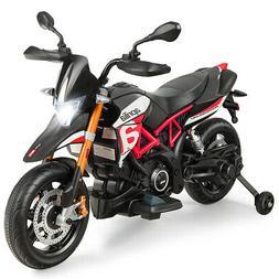 Aprilia Licensed 12V Kids Ride-On Motorcycle Motor Bike w/ T