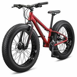 Mongoose Argus Trail Youth Fat Tire Mountain Bike, 24-Inch W