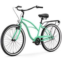 sixthreezero Around The Block Men's 21-Speed Cruiser Bicycle