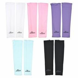 Cosmos Assorted Color UV Protection Cooler Arm Sleeves 5 Pai