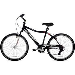 "26"" Next Avalon Men's Comfort Bike with Full Suspension, Bla"