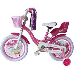 Micargi Girl's Avery Bicycle, Wheel Size , White