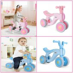 Baby Toddler Balance Bikes Bicycle Infant No Pedal 4 Wheels