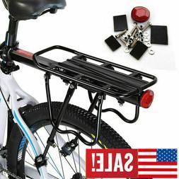 Back Rear Rack Bike Bicycle Seat Post Frame Carrier Holder C