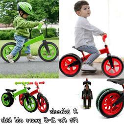 Balance Bike Classic Kids No-Pedal Learn To Ride Pre Bike w/