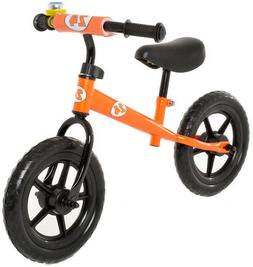 Childrens Balance Bike No Pedal Push Bicycle for Girls or Bo