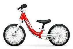 """woom 1 Balance Bike 12"""", Ages 18 Months to 3.5 Years, Red"""