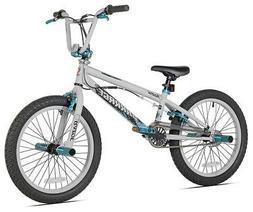 Razor Barrage BMX/Freestyle Bike, 20-Inch, Grey/Blue