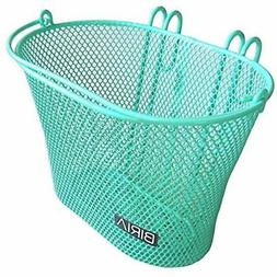 Basket with hooks Green, Front , Removable, Children wire me