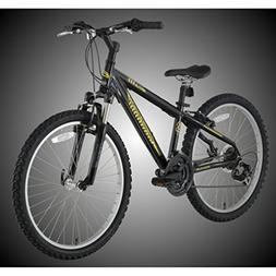 "BikeHard Battle Twenty-Four 24"" Black/Yellow"