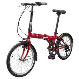 Bay 6-Speed Cruiser Bike Color: Red