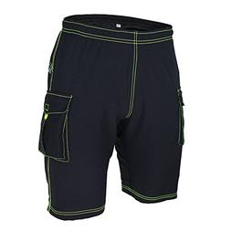 BD Men Outdoor Cycling Short Padded Bike Pants Hiking Sport