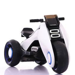 BDQ-6188 WHITE ELECTRIC MINI TRI- SCOOTER BIKE WITH MUSIC US