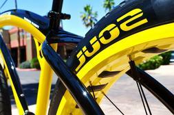 "Fat Tire Drift Trike Beach Cruiser Bicycle Bike Tires 1 Tire 26x4/"""