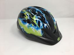 Bell 7084243 Child Rally Bike Helmet - Lightning Black & Yel