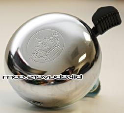 Fito Bell - Chrome, Classic Style Bicycle Bell, Metal Case
