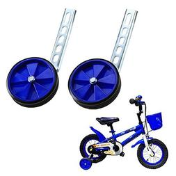 Children's Bicycle 20-Inch Adjustable Training Wheels, Kids