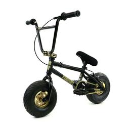FatBoy Mini BMX Bicycle Assault, Black/Gold