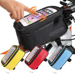 JOY COLORFUL Bicycle Bags Bicycle Front Tube Frame Cycling P
