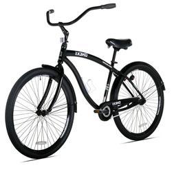 Bicycle Bike - Transport Men Women Cruiser Seat Fork Black B