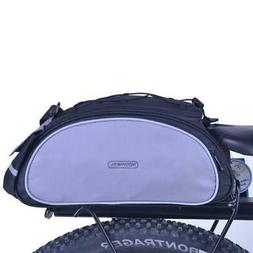Bicycle Bike Seat Shoulder Bag Rear Tail Rack Pannier Cyclin