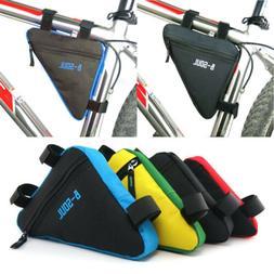 Bicycle Bike Storage Bag Triangle Saddle Frame adjustable Cy
