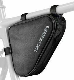 Aduro® Bicycle Bike Storage Bag Triangle Saddle Frame adjus