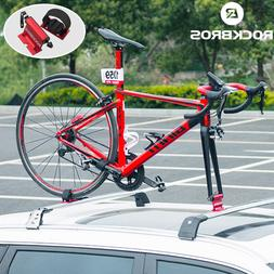 ROCKBROS Bicycle Quick-release Car Truck Alloy Fork Lock Mount Roof Rack Black