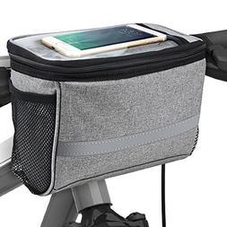 BicycleStore® Bicycle Cycling Basket Handlebar Bag with Sli