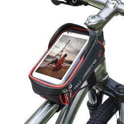 Bicycle Cycling Bike Front Top Tube Frame Bag MTB Phone Hold