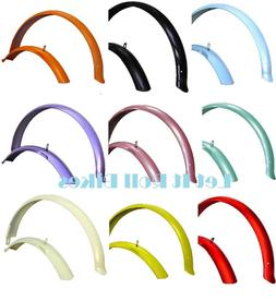 """Bicycle Fender Set for 26"""" Beach Cruiser Bikes===16 Colors A"""