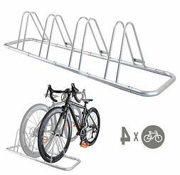CyclingDeal 4 Bike Bicycle Floor Parking Rack Storage Stand