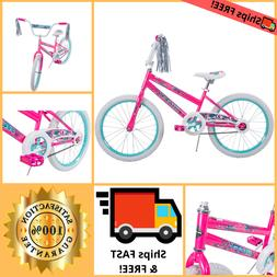 Bicycle For Girls 20 Inch Bike Pink Outdoor Riding Cycling H