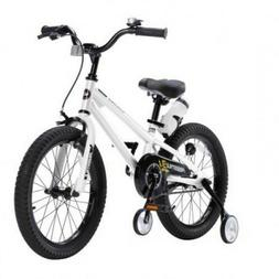 Bicycle for Kids White 18 Inch Little Boys Girls Training Wh